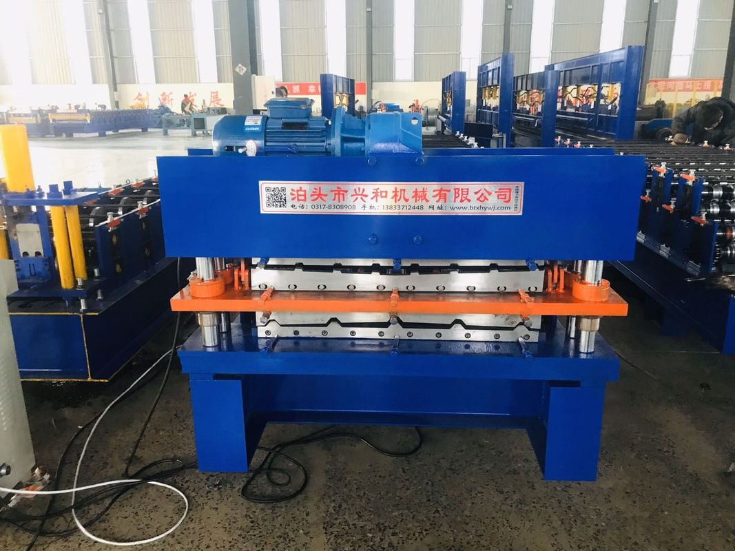 double layer panel high efficiency cold roll forming machine